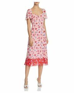 nanette Nanette Lepore Floral Sweetheart Dress
