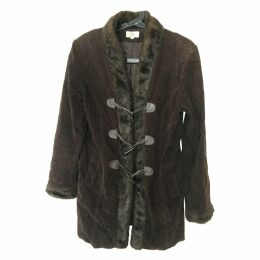 Brown Cotton Coat