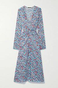 Jil Sander - Ribbed Cotton Maxi Dress - Blue