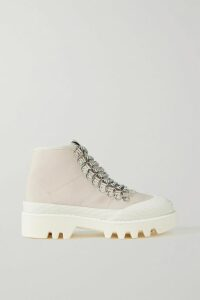 Lela Rose - Plaid Woven Halterneck Gown - Blue