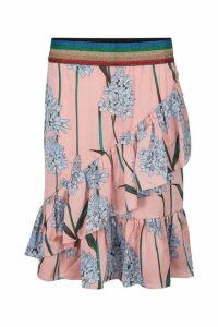 Womens Sofie Schnoor Pink Floral Wrap Skirt Coord -  Pink