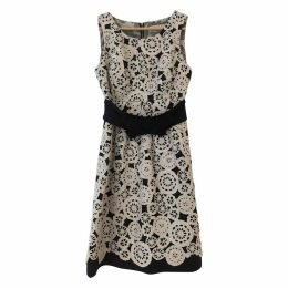 Lace mid-length dress