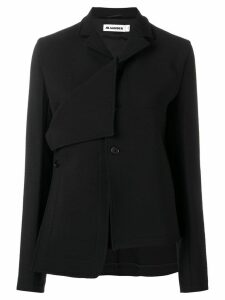 Jil Sander deconstructed blazer - Black