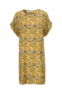 Womens Masai Green Nara Dress -  Yellow