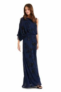 Womens Phase Eight Blue Shirley Embellished Dress -  Blue