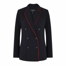 Rag & Bone Jarvis Red-trimmed Blazer