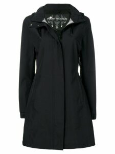 Moose Knuckles zipped hooded coat - Black