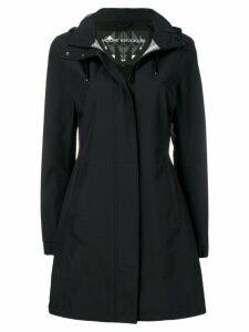 Moose Knuckles zipped hooded coat - Black