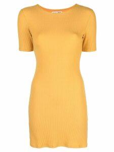 Reformation Kendy dress - Yellow