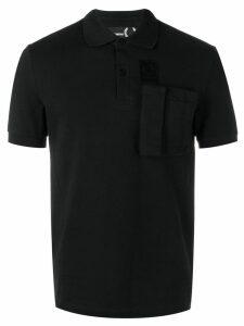 Raf Simons X Fred Perry cargo pocket polo shirt - Black