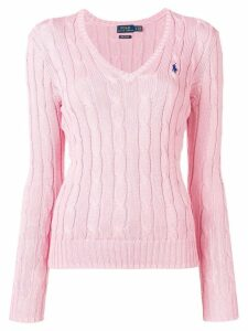 Polo Ralph Lauren cable knit pullover - Pink