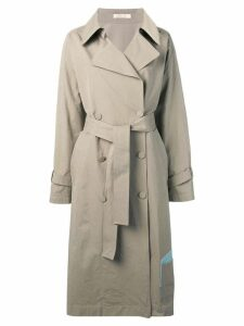 Ssheena long trench coat - Neutrals