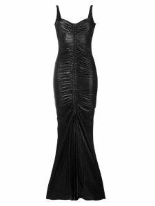 Galvan Sahara ruched dress - Black