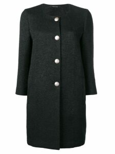 Tagliatore single breasted coat - Black