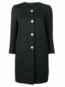 Tagliatore single breasted coat - Black
