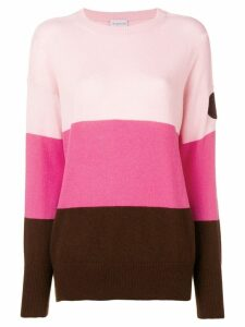 Moncler colour block jumper - Pink