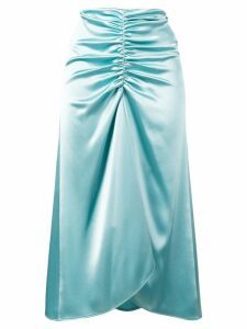 Ssheena waterfall skirt - Blue