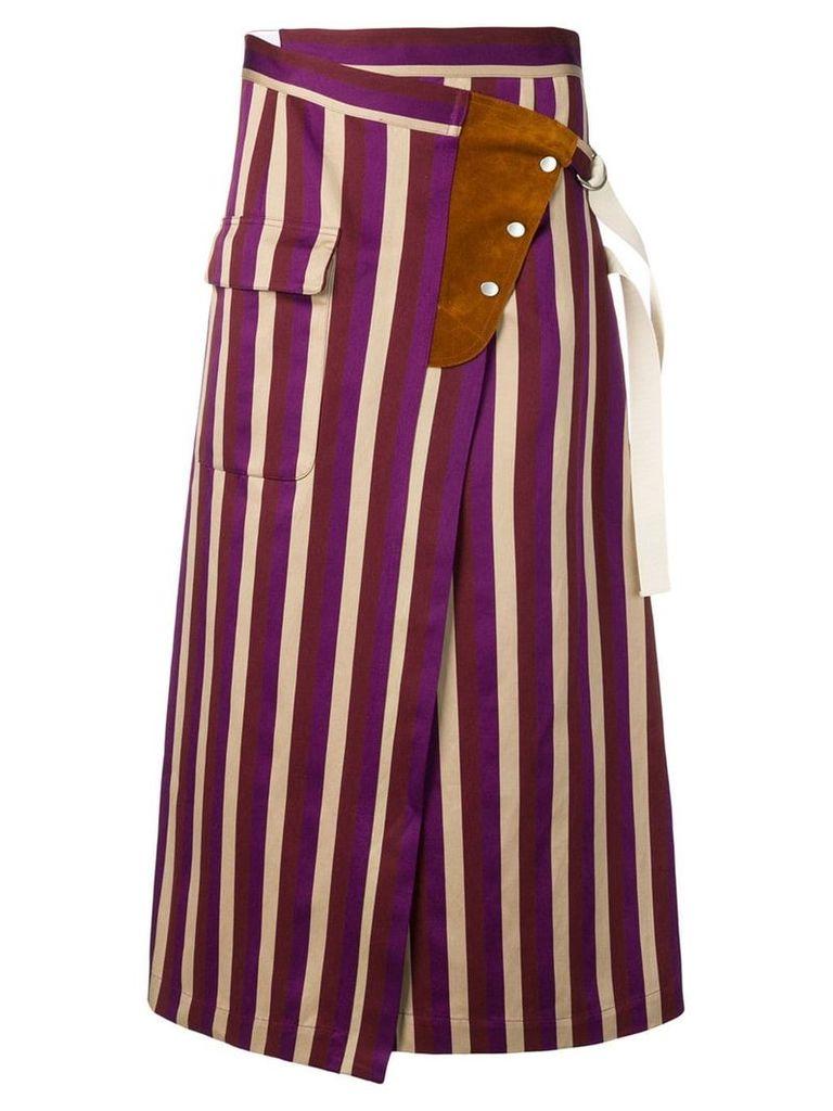 Golden Goose Linette skirt - Purple