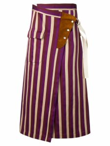 Golden Goose Linette skirt - PURPLE