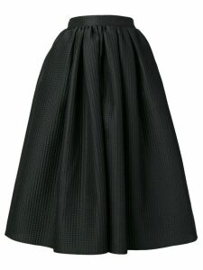 MSGM textured flared skirt - Black