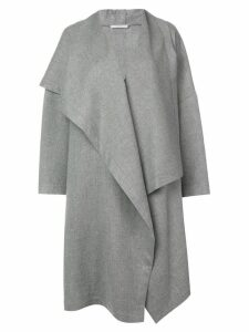 Dusan wide lapel coat - Grey