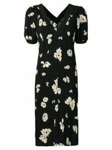 A.P.C. two-tone print dress - Black