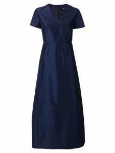 Aspesi structured flared dress - Blue