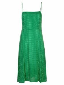 Reformation Peach slip dress - Green