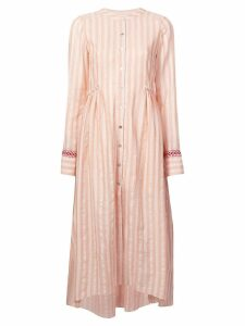 Lemlem Nefasi striped shirt dress - Pink