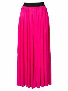 MSGM flared midi skirt - Pink
