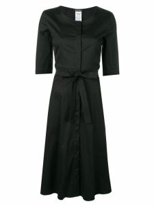 'S Max Mara belted flared dress - Black