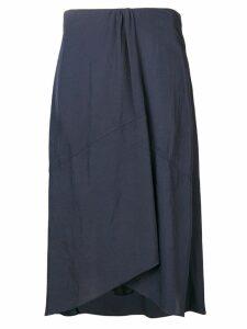 Vince gathered detail skirt - Blue