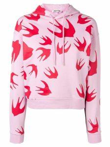 McQ Alexander McQueen Swallow hoodie - Pink