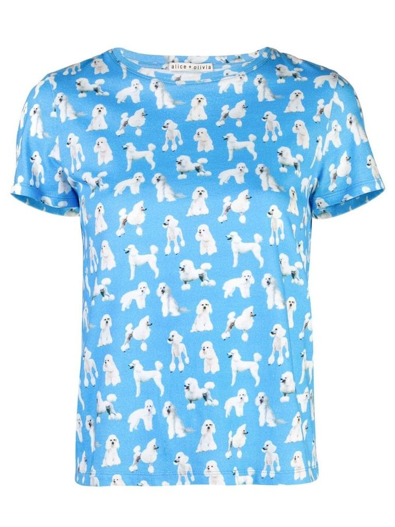 Alice+Olivia Rylyn T-shirt - Blue