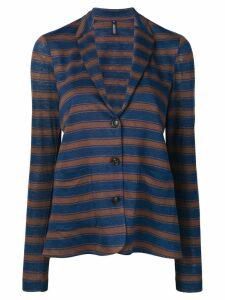 Woolrich striped jersey blazer - Blue