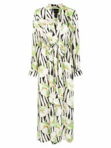Jill Jill Stuart printed kimono dress - White
