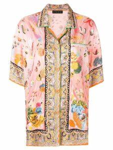 Etro loose-fit printed shirt - Pink