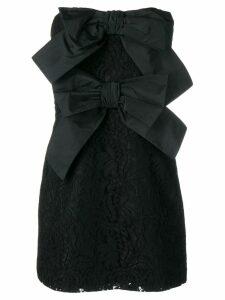 Brognano floral lace mini dress - Black