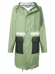 Stutterheim Holma Print lightweight raincoat - Green
