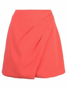 Alice+Olivia Shaylee asymmetric skirt - Red
