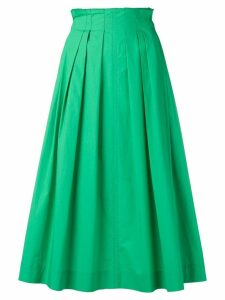 Escada Sport pleated midi skirt - Green
