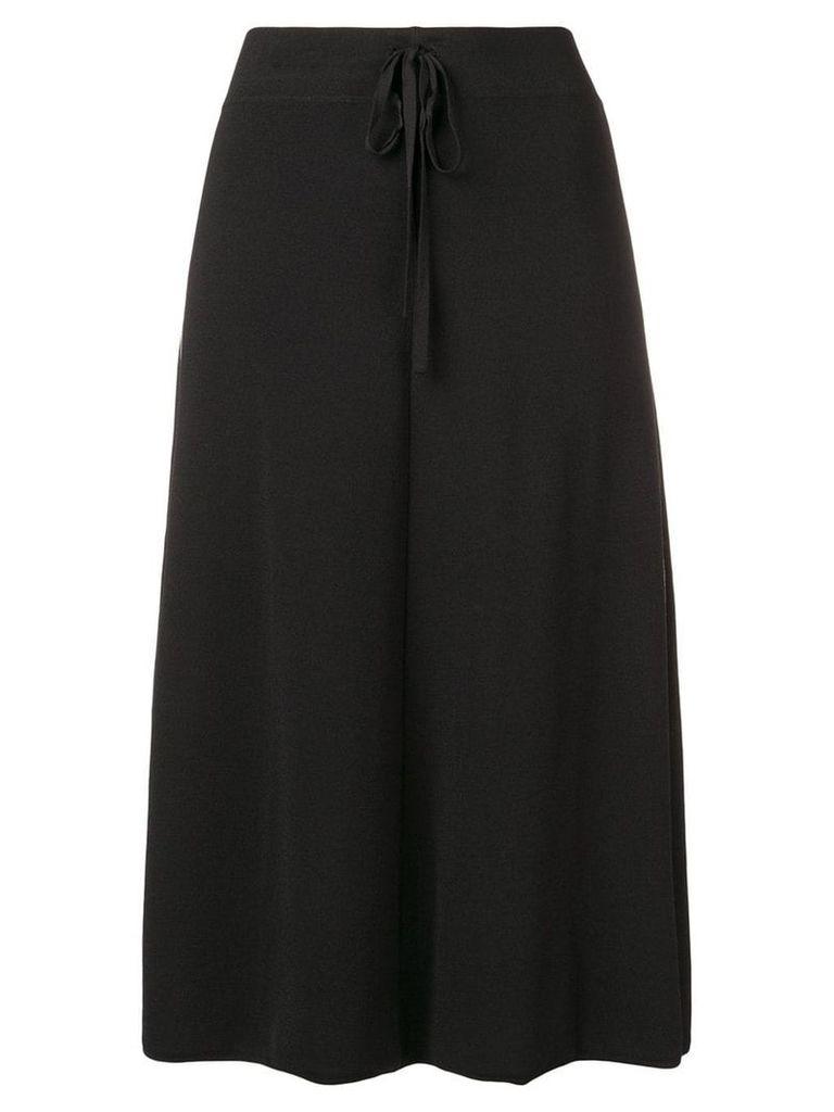 P.A.R.O.S.H. side stripe skirt - Black