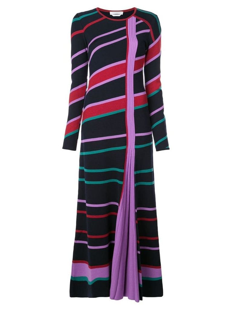 Gabriela Hearst striped long-sleeve sweater dress - Multicolour