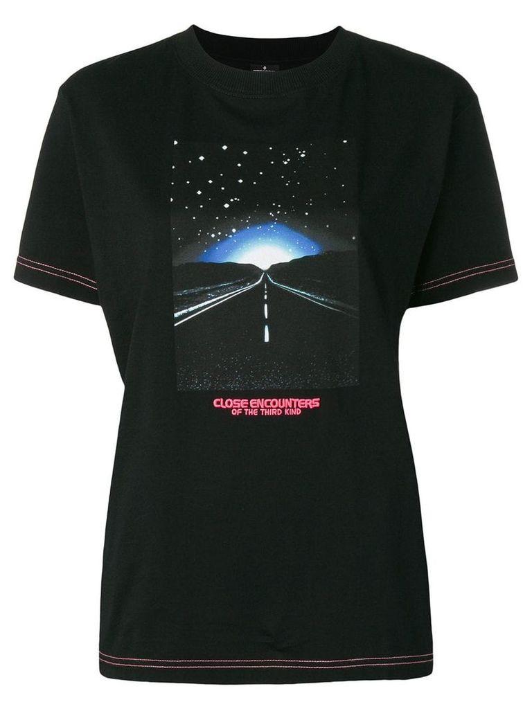 Marcelo Burlon County Of Milan contrast printed t-shirt - Black