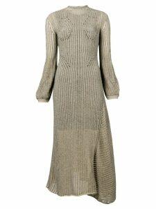 Chloé ribbed knit midi dress - NEUTRALS