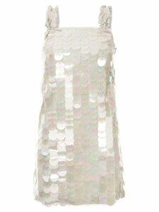 Drome paillette-embellished dress - White