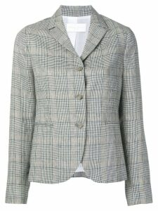 Fabiana Filippi plaid blazer - Blue