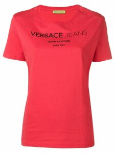 Versace Jeans classic logo T-shirt - Red