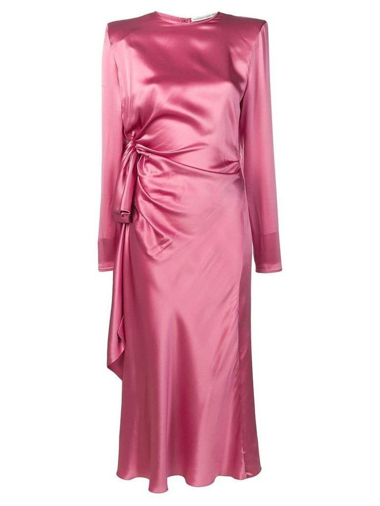 Alessandra Rich wrap dress - Pink
