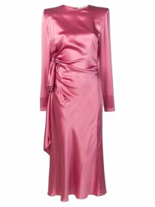 Alessandra Rich wrap dress - Pink